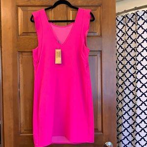 Francesca's Collections Dresses - NWT Francesca's Hot Pink Summer Dress - L
